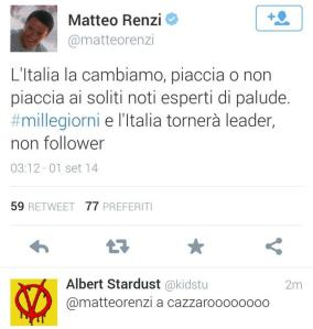 e infatti il Paese è tutto con Renzi